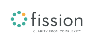 Fission Logo with Slogan